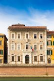Den Pisa universitetrectoraten förlägger högkvarter i Tuscany, Italien arkivfoton