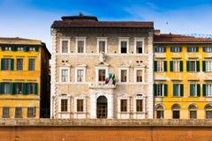 Den Pisa universitetrectoraten förlägger högkvarter i Tuscany, Italien royaltyfri fotografi