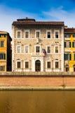 Den Pisa universitetrectoraten förlägger högkvarter i Tuscany, Italien royaltyfri foto