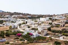 Den pittoreska staden av Milos ö, Cyclades, Grekland Royaltyfri Fotografi