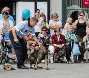 Den policie Brno. Police day on Náměstí Svobody in Brno stock images