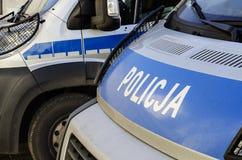 Den polska polisen undertecknar Arkivbilder