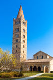Den Pomposa abbotskloster av Codigoro Royaltyfria Bilder