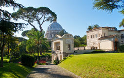 Den Pontifical akademin av vetenskaper i Vatican royaltyfria foton