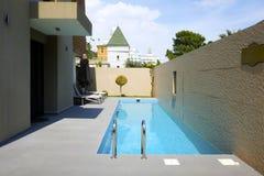 Den populära semesterorten Amara Dolce Vita Luxury Hotel Arkivbilder