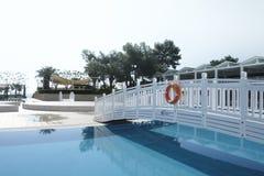 Den populära semesterorten Amara Dolce Vita Luxury Hotel Arkivbild