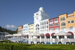 Den populära semesterorten Amara Dolce Vita Luxury Hotel Royaltyfria Bilder