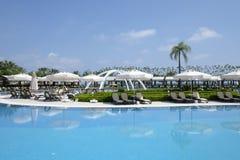 Den populära semesterorten Amara Dolce Vita Luxury Hotel Royaltyfri Fotografi