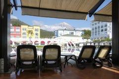 Den populära semesterorten Amara Dolce Vita Luxury Hotel Royaltyfri Foto