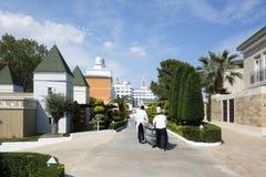 Den populära semesterorten Amara Dolce Vita Luxury Hotel Arkivfoto