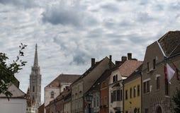 Den populäraste kyrkan i Budapest Royaltyfri Bild