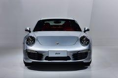 Den Porsche 911 bilen royaltyfria bilder