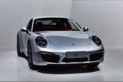 Den Porsche 911 bilen Fotografering för Bildbyråer