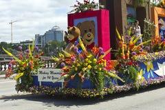 Den Portland Oregon rosen ståtar Royaltyfri Foto