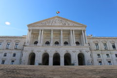 Den portugisiska parlamentet - Portugal Arkivfoton