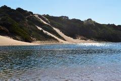 Flod och Sandunes Fotografering för Bildbyråer