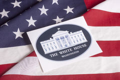 Den presidents- valdagen röstar Royaltyfri Fotografi