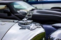 Den prestigefulla Bentley Logo Royaltyfri Bild