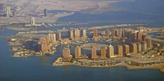 Den pärlemorfärg Qatar Royaltyfri Foto