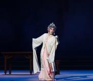 """Den prototyp vända-Kunqu Opera""""Madame vita Snake†en Fotografering för Bildbyråer"""