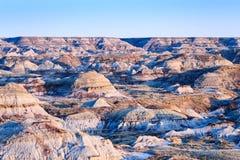 Den provinsiella dinosaurien parkerar Alberta Badlands Royaltyfria Foton