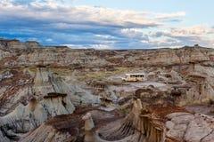 Den provinsiella dinosaurien parkerar - Alberta, Kanada Fotografering för Bildbyråer