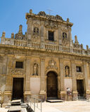 Den Purgatorio kyrkan i Castelvetrano, Sicilien Royaltyfria Bilder