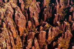 Den Purnululu nationalparken och förfuskar förfuskar Arkivbild