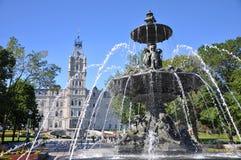Quebec parlamentbyggnad, Quebec City arkivfoto
