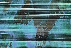 Abstrakt Expressionism utformar texturerar stock illustrationer