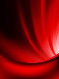 Den röda gardinen bleknar till det mörka kortet. EPS 10 Royaltyfri Foto