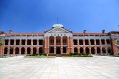 Den röda kammaren i den Wuhan staden royaltyfri foto