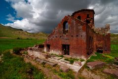 Den röda kyrkan, Cappadocia Royaltyfria Bilder