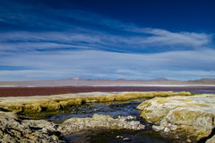 Den röda lagun Royaltyfri Bild