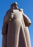 Den röda Riflemenmonumentet i Riga Royaltyfria Foton