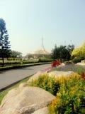 Den Ratchamangkhala paviljongen, Rama IX parkerar Royaltyfria Bilder