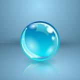 Den realistiska spheren eller klumpa ihop sig. Vektorillustration. Arkivbilder