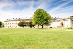Den Reduit Tilly slotten i Ingolstadt Royaltyfri Bild