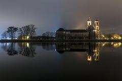 Den reflekterande abbotskloster arkivbild