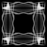 Den rektangulära ramen Arkivfoto