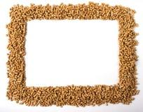 Den rektangulära ramen av kulor Arkivbild