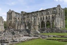 Den Rievaulx abbotskloster, North Yorkshire förtöjer, North Yorkshire, England Royaltyfria Foton