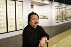 Den rikaste kinesiska konstnären Cui Ruzhuo Arkivbilder