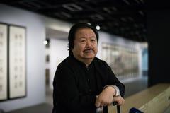 Den rikaste kinesiska konstnären Cui Ruzhuo Royaltyfria Foton