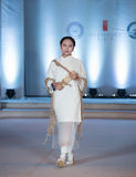 Den rikliga skörd-mode för nittonde serie showen Royaltyfri Foto