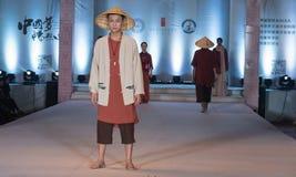 Den rikliga skörd-mode för nittonde serie showen Royaltyfri Fotografi