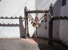 Den rituella klockan Arkivbild