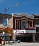 Den Riviera teatern royaltyfri bild