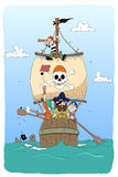 Farligt piratkopierar Arkivfoto