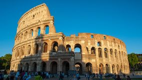 Den roman colosseumen Royaltyfria Foton